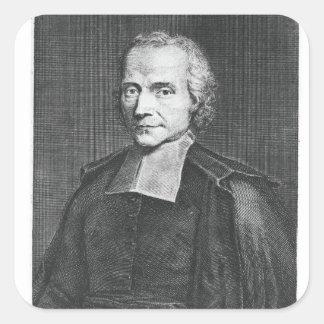 Portrait of Adrien Baillet Stickers
