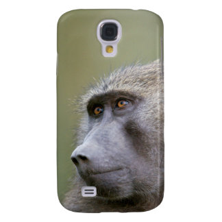 Portrait of adult Olive baboon (Papio anubis) Samsung Galaxy S4 Case