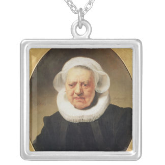 Portrait of Aechje Claesdar, 1634 Necklace