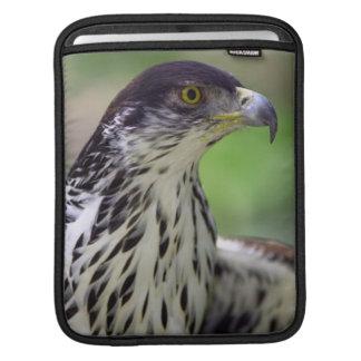 Portrait Of African Hawk Eagle iPad Sleeve