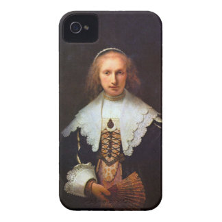 Portrait of Agatha Bas by Rembrandt iPhone 4 Case