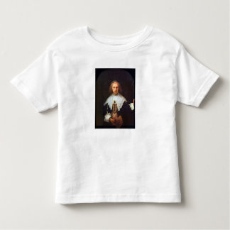 Portrait of Agatha Bas by Rembrandt Toddler T-shirt