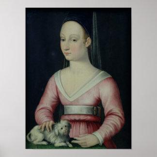 Portrait of Agnes Sorel Poster
