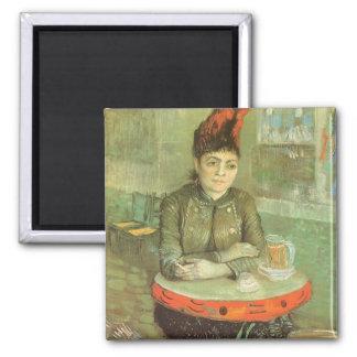 Portrait of Agostina Segatori by Vincent van Gogh Fridge Magnets