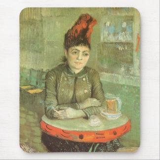 Portrait of Agostina Segatori by Vincent van Gogh Mouse Pad