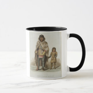 Portrait of Akaitcho and his Son, from 'Narrative Mug
