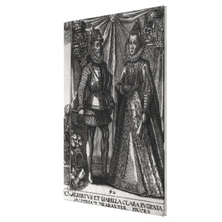 Portrait of Albert, Archduke of Austria Gallery Wrapped Canvas