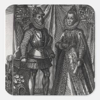 Portrait of Albert, Archduke of Austria Stickers