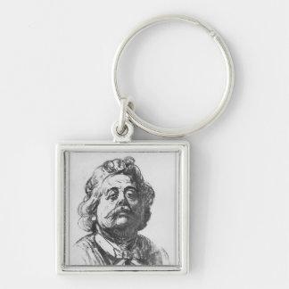 Portrait of Albert Ernest Carrier-Belleuse Keychain