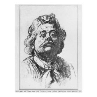 Portrait of Albert Ernest Carrier-Belleuse Postcard