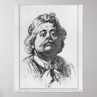 Portrait of Albert Ernest Carrier-Belleuse Poster
