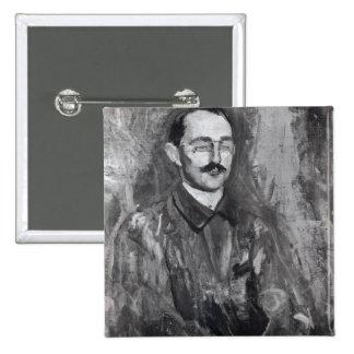 Portrait of Albert Marquet 2 Inch Square Button