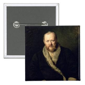 Portrait of Aleksandr Ostrovsky  1871 Button