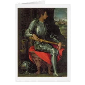 Portrait of Alessandro de' Medici, 1534 (oil on pa Card