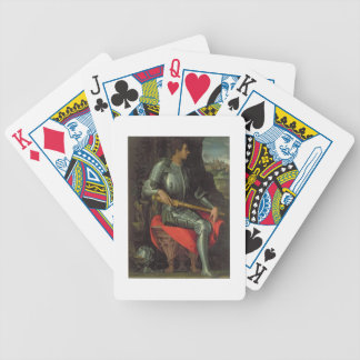 Portrait of Alessandro de' Medici, 1534 (oil on pa Bicycle Playing Cards