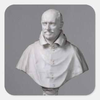 Portrait of Alessandro Square Sticker
