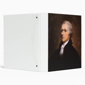 Portrait of Alexander Hamilton by John Trumbull Binder