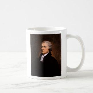 Portrait of Alexander Hamilton by John Trumbull Mugs