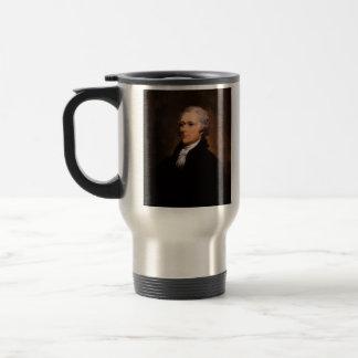 Portrait of Alexander Hamilton by John Trumbull Travel Mug