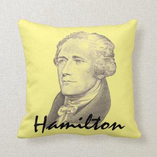 Portrait of Alexander Hamilton Throw Pillow