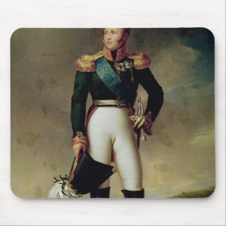 Portrait of Alexander I  1814 Mouse Pad