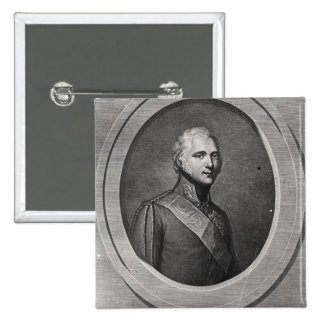 Portrait of Alexander I Pinback Button