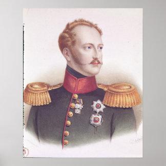 Portrait of Alexander I Poster