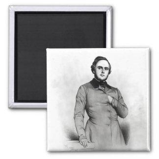 Portrait of Alexander Ledru-Rollin Magnet