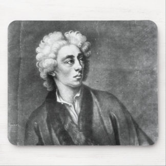 Portrait of Alexander Pope Mouse Pad