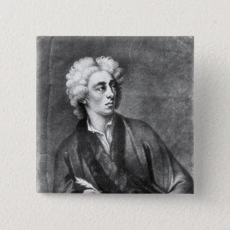 Portrait of Alexander Pope Pinback Button