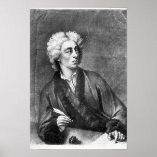Portrait of Alexander Pope Poster