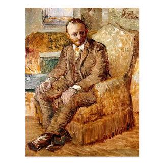 Portrait of Alexander Reid, Vincent van Gogh Post Card