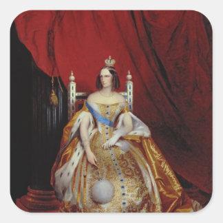 Portrait of Alexandra FyodorovnaI Square Sticker