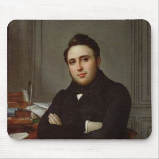 Portrait of Alexandre Auguste Ledru-Rollin Mouse Pad