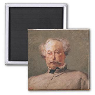 Portrait of Alexandre Dumas fils Magnet