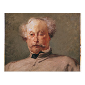 Portrait of Alexandre Dumas fils Postcard