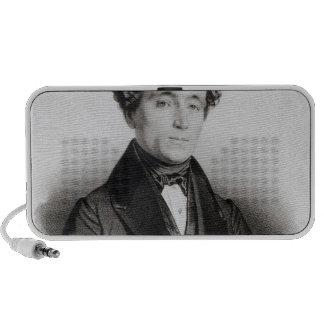 Portrait of Alexandre Dumas Fils iPhone Speaker