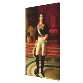 Portrait of Alfonso XII  1876 Canvas Print