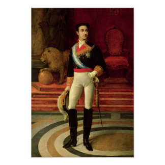 Portrait of Alfonso XII  1876 Poster