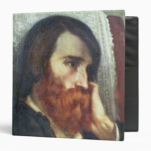 Portrait of Alfred Bruyas Vinyl Binder