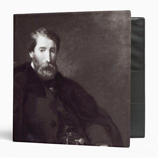 Portrait of Alfred Bruyas Vinyl Binders