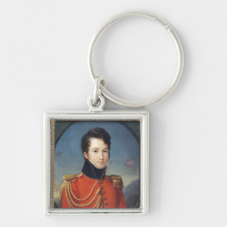 Portrait of Alfred de Vigny Keychain