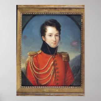 Portrait of Alfred de Vigny Poster