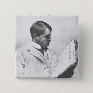 Portrait of Alfred Harmsworth, 1897 Pinback Button