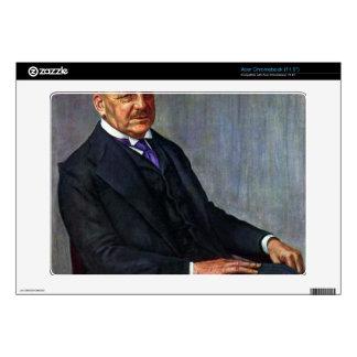 Portrait of Alfred Lichtwark by Kalckreuth Acer Chromebook Decals