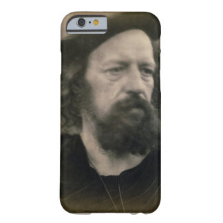 Portrait of Alfred, Lord Tennyson (1809-92) (b/w p iPhone 6 Case