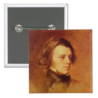 Portrait of Alfred Lord Tennyson Pin