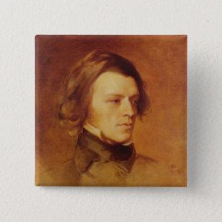 Portrait of Alfred Lord Tennyson Pinback Button