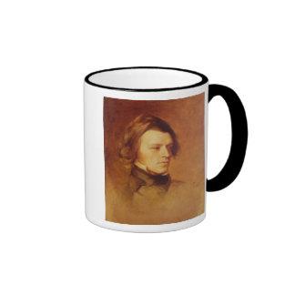 Portrait of Alfred Lord Tennyson Ringer Coffee Mug