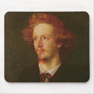 Portrait of Algernon Charles Swinburne  1867 Mouse Pad